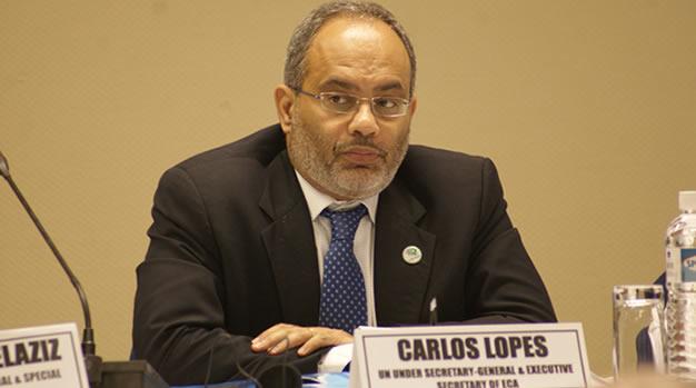 Carlos Lopes, UN Under-Secretary and UNECA Executive Secretary
