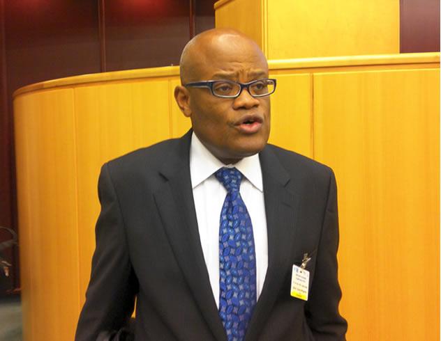 Steve Kayizzi-Mugerwa, Chief Economist and AfDB Vice President [Image Credit: IOO]