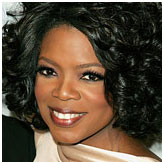 Oprah Winfrey With her aptly acronymed television network, Oprah, in a word, OWNs. America's most beloved talk-show host, book club president, actress, producer, magazine owner, satellite radio station owner, philanthropist, lifestyle guru, and single-handed president picker, Oprah was raised being taunted for having to wear potato-sack dresses because of her poverty. Now, if she sneezes, the market moves.