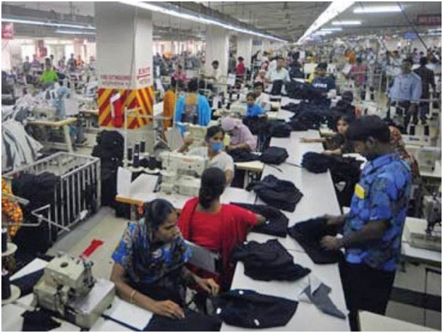 Garment Factory in Bangladesh